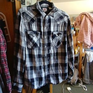 Grey Levi's Flannel